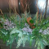 Natural Commercial Winter Display